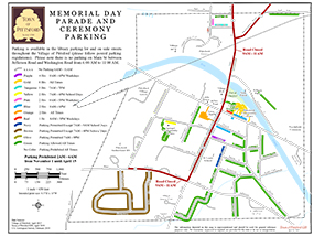 Memorial Day Parking