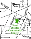 Paul M. Spiegel Pittsford Community Center Map