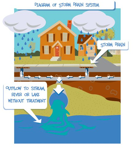 Stormwater Drain Diagram