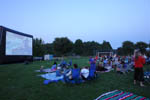 Outdoor Movie Night, Tintin