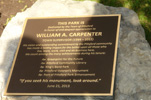 Dedication: William A. Carpenter Park at Port of Pittsford